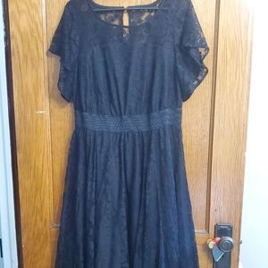 Torrid handkerchief lace dress